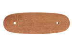 """Stock Extension, European Walnut 5.280"""" Long x .475"""" Thick x 1.690"""" Widest Point"""