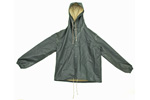 Finnish Hooded Rain Jacket, Size Medium, Unissued