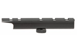 Carry Handle Scope Mount, Weaver Style, Black Anodized Aluminum, 5-Slot Design