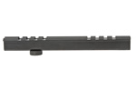 Carry Handle Scope Mount, Weave Style, Black Anodized Aluminum, 8-Slot Design