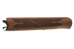 Forend Assembly w/ Blued Iron, .410 Ga, Walnut, Fleur-de-Lis Checkering