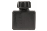 Oil Bottle, Romanian, Black Plastic, Unissued