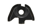 Slide End Cap, Black Plastic, New Factory Original