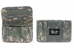 Choke Tube Pouch, 5-Cell, Canvas, Digital Camo (Made by Target Sports)
