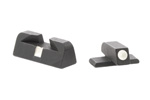 Front & Rear Sight Set, Contrast, 9mm/.357 Sig