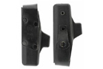 Holster, RH w/Plastic Shell and Leather Snap-Button Straps by Hoppner & Schumann