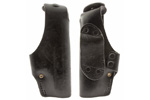 Holster, RH Black Leather, Used, Made by Hoppner & Schumann