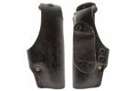 Holster, RH Black Leather, Used, Made by Hoppner & Schumann