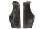 Holster, LH Black Leather, Used, Made by Hoppner & Schumann