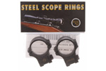 Scope Rings, Steel 30mm, Split, Medium, Matte Black, Factory Original, New
