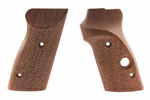 Grips w/ Thumbrest, Target, Textured Pattern, New