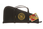 "S&W Performance Center Pistol Case, 20"" x 10"", Embroidered Logo, Black/Gold, New"