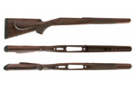 Stock, Safari Express, LH, L/A, Large Magnum Calibers, Walnut, Chkrd, Satin Fin.