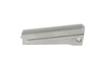 Mainspring Housing, Flat, Serrated, Matte Stainless