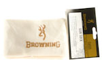 Gun Sock, Browning, White