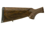 Stock, 12 Ga., RH, Walnut, Triwood Grain, Fleur-de-lis Checkering, Gloss Finish