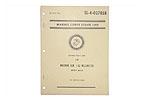 M60D Machine Gun Marine Corps Stock List Manual