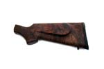 Stock, Checkered Walnut-w/ Rosewood Grip Cap, Basket Weave Rifle Pad, Cheekpiece