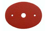 Grip Cap Spacer, Red