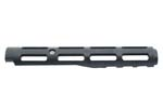Handguard w/Barrel Clip, Ventilated, Black Plastic, Made by Fed-Ord Inc.