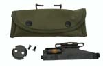 M15 Grenade Launcher Sight &amp; Mount Plate In Canvas Pouch