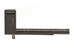 "Cut-Off Assembly, 2 1/2"", Angled Flat on Shaft, Reproduction"