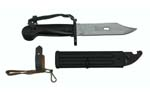 "Combat Knife, East German AK, Multi Purpose (11"" OAL w/ Bowie Blade, Insulated)"