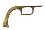 Trigger Guard, Model 1851 Navy, Solid Brass (Drilled & Countersunk)