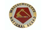 534740 Medallion, Massachusetts National Guard (1-5/8