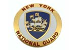 """Medallion, New York National Guard (1-5/8"""" Diameter)"""