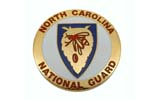 "Medallion, North Carolina National Guard (1-5/8"" Diameter)"