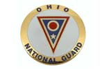 "Medallion, Ohio National Guard (1-5/8"" Diameter)"