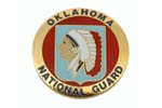 534830 Medallion, Oklahoma National Guard (1-5/8