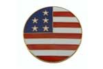 "Medallion, U.S. Flag (1-5/8"" Diameter)"