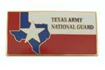"Medallion, Texas Army National Guard (Rectangular, 2-5/8"" x 1-3/8"")"