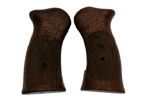 Grips, H&R, Checkered Walnut