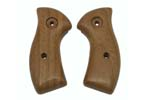Grips, Smooth Walnut - w/ No Medallions Or Grip Escutcheons Installed. New Cond.
