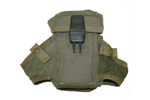 Magazine Pouch, Nylon, Grade 2 - Fair To Good Condition, Dividers Are In Place