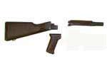 Stock Set, East German AK, Plastic - -