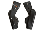 Holster, Right, Used - Original, Swiss Police Issue, Black Leather