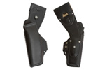 Holster, Left, New, Original, Swiss Police Issue, Black Leather