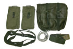 Swedish Military Pack & Harness Set - Olive Green - -