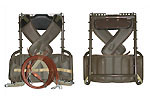 Hunting/Outdoor Pack Shelf - New, Swiss Military Surplus Pack Shelf, Olive Drab