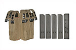 Magazine & Pouch Set, 9mm