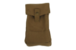 Magazine Pouch-New, British Military Surplus, Holds 6-30 Or 32 Round Magazines.
