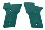 Grips, Green Checkered Nylon, New Factory Original (w/ S&W Logo)