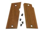 Grips, Argentine Serrated Walnut - Includes Screws