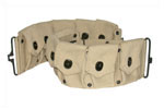 Clip Belt, 10 Pocket, Khaki