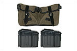 Magazine & Pouch Set (Incl 2 10 Round Mags & A Reproduction 2 Pocket Belt Pouch)