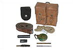Cleaning & Maintenance Kit w/ Leather Sling, Used - -